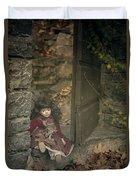 Old Doll Duvet Cover