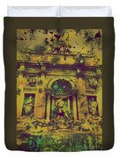Trevi Fountain Duvet Cover