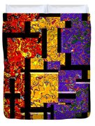1517 Abstract Thought Duvet Cover