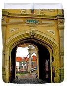 1540 Entrance To Enkhuizen-netherlands Duvet Cover