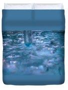 Australia - Deep Blue White Water Colour Duvet Cover