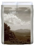 Blue Ridge Mountains - Virginia Sepia 7 Duvet Cover
