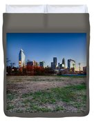 Early Morning In Charlotte Nc Duvet Cover