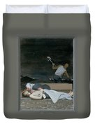 16. Jesus Is Buried / From The Passion Of Christ - A Gay Vision Duvet Cover