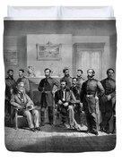 Lee's Surrender, 1865 Duvet Cover