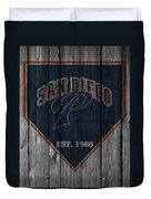 San Diego Padres Duvet Cover