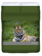 Siberian Tiger, China Duvet Cover