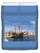 16th Century Ship Duvet Cover