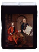 John Churchill (1650-1722) Duvet Cover