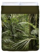 Jungle Leaves Duvet Cover