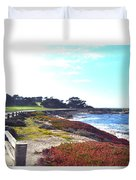 17 Mile Drive Shore Line II Duvet Cover
