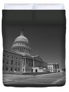 Us Capitol Building Duvet Cover