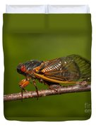 17-year Periodical Cicada I Duvet Cover