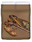 17-year Periodical Cicada II Duvet Cover