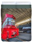 1776 And 1218 Locomotives Norfolk And Western Duvet Cover