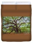 Southern Angel Oak  Duvet Cover