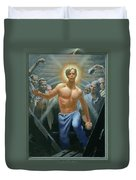 18. Jesus Rises / From The Passion Of Christ - A Gay Vision Duvet Cover
