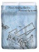 1836 Wood Molding Machine Duvet Cover