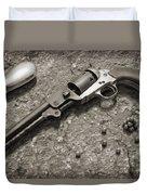 1851 Navy Revolver 36 Caliber - 2 Duvet Cover