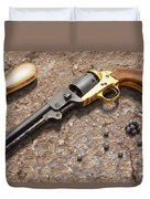 1851 Navy Revolver 36 Caliber Duvet Cover by Mike McGlothlen