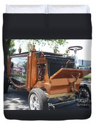 1852 Cunningham Hearse With 383 Chevy Stroker Engine Duvet Cover