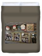 1860's Chinese Mercantile Shop - Montana Duvet Cover