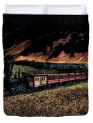1870s Prairie Fires Of The Great West - Duvet Cover