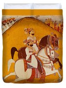 18th Century Indian Painting Duvet Cover