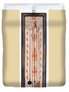 18th Century Thermometer-barometer Duvet Cover