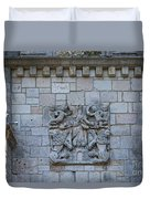 Ancient Spanish Monastery Duvet Cover