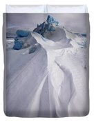 Pack Ice, Antarctica Duvet Cover