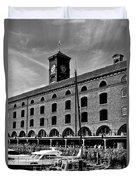 St Katherines Dock London Duvet Cover