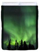 The Aurora Borealis Duvet Cover