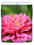 Zinnia From The Candy Mix Duvet Cover