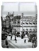 1900s Intersection Of Fair Oaks Duvet Cover
