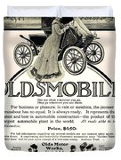 1904 - Oldsmobile Automobile Advertisement Duvet Cover