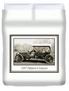 1907 Panhard Et Levassor Duvet Cover by Jill Reger