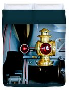 1908 Buick Model S Tourabout Taillight Duvet Cover
