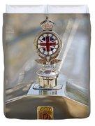1909 Rolls Royce Duvet Cover