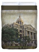 1910 Harris County Courthouse  Duvet Cover