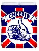 1910 Union Jack Cheerio Duvet Cover