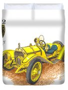 1911 1912 Mercer Raceabout R 35 Duvet Cover