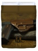 1911 Concealed Carry Duvet Cover