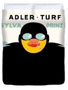 1913 - Adler Cigarette German Advertisement Poster - Color Duvet Cover