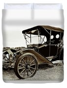 1913 Argo Electric Model B Roadster Coffee Duvet Cover