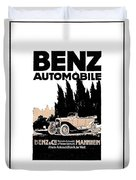 1914 - Benz Automobile Poster Advertisement - Color Duvet Cover