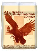 1916 - Lugwig Hohlwein German Musical Poster Duvet Cover
