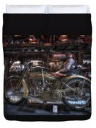 1917 Harley Davidson Duvet Cover