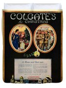 1918 - Colgate Advertisement - World War I - Color Duvet Cover