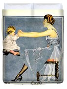 1918 - Luxite Hosiery Advertisement - Color Duvet Cover